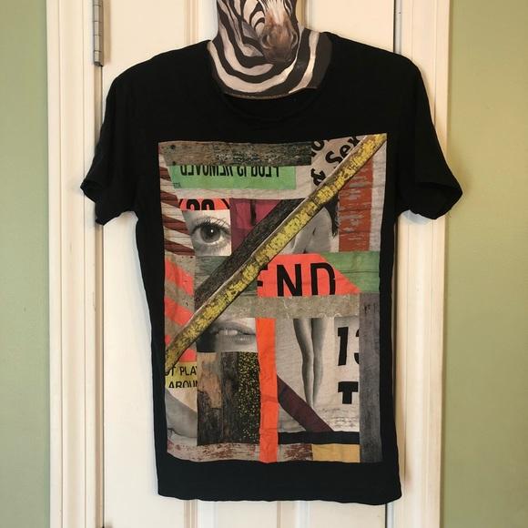 f619eded Zara Man Graphic Print Pop Culture Men's T-Shirt